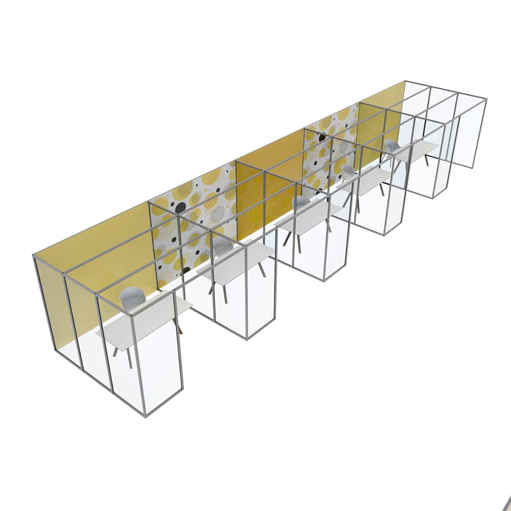 Cubicall Matrix Offices, Open