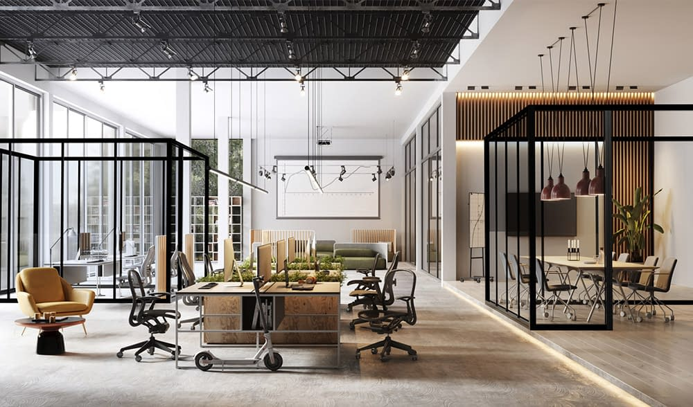Cubicall Matrix Isolated Office Rooms