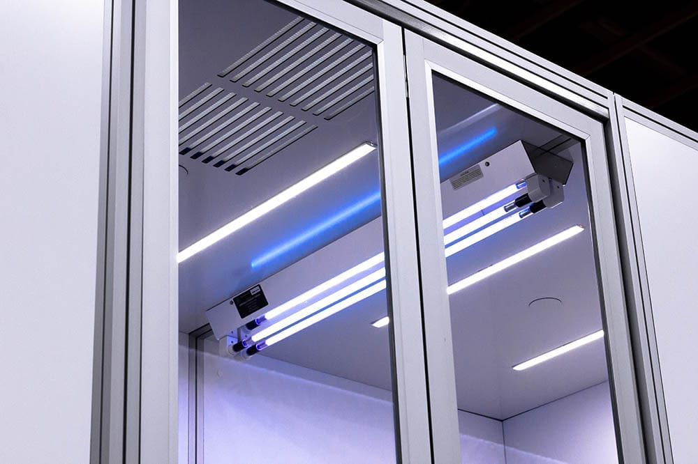 Cubicall Exam Pod - UV-C Skylight for UVGI