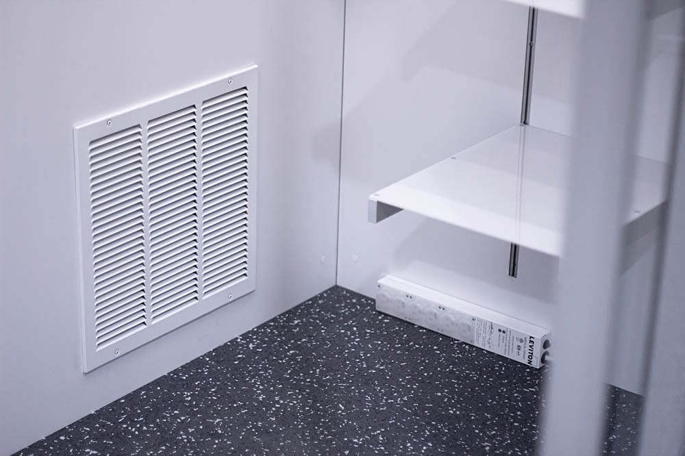 Cubicall Exam Pod - Interior Exhaust Panel