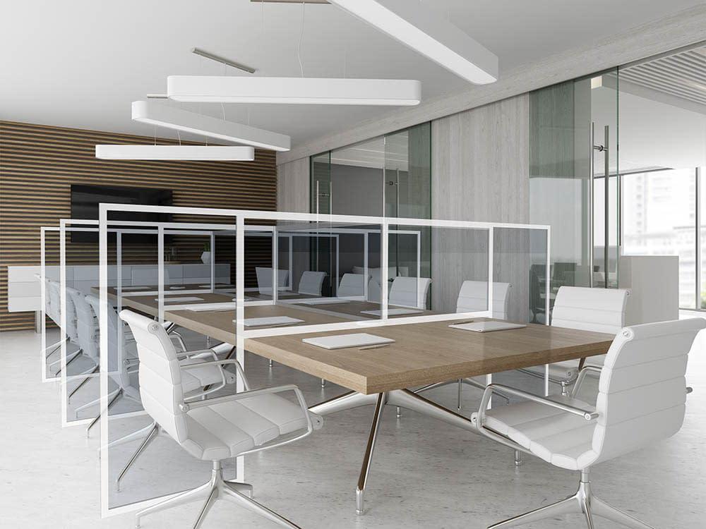 Desk Divider, Meeting Room