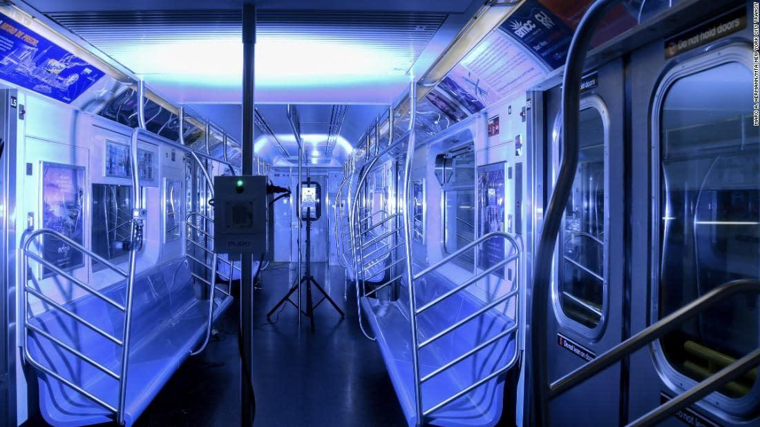 puro lighting NYC Subway