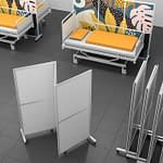Rolling Divider, Foldable
