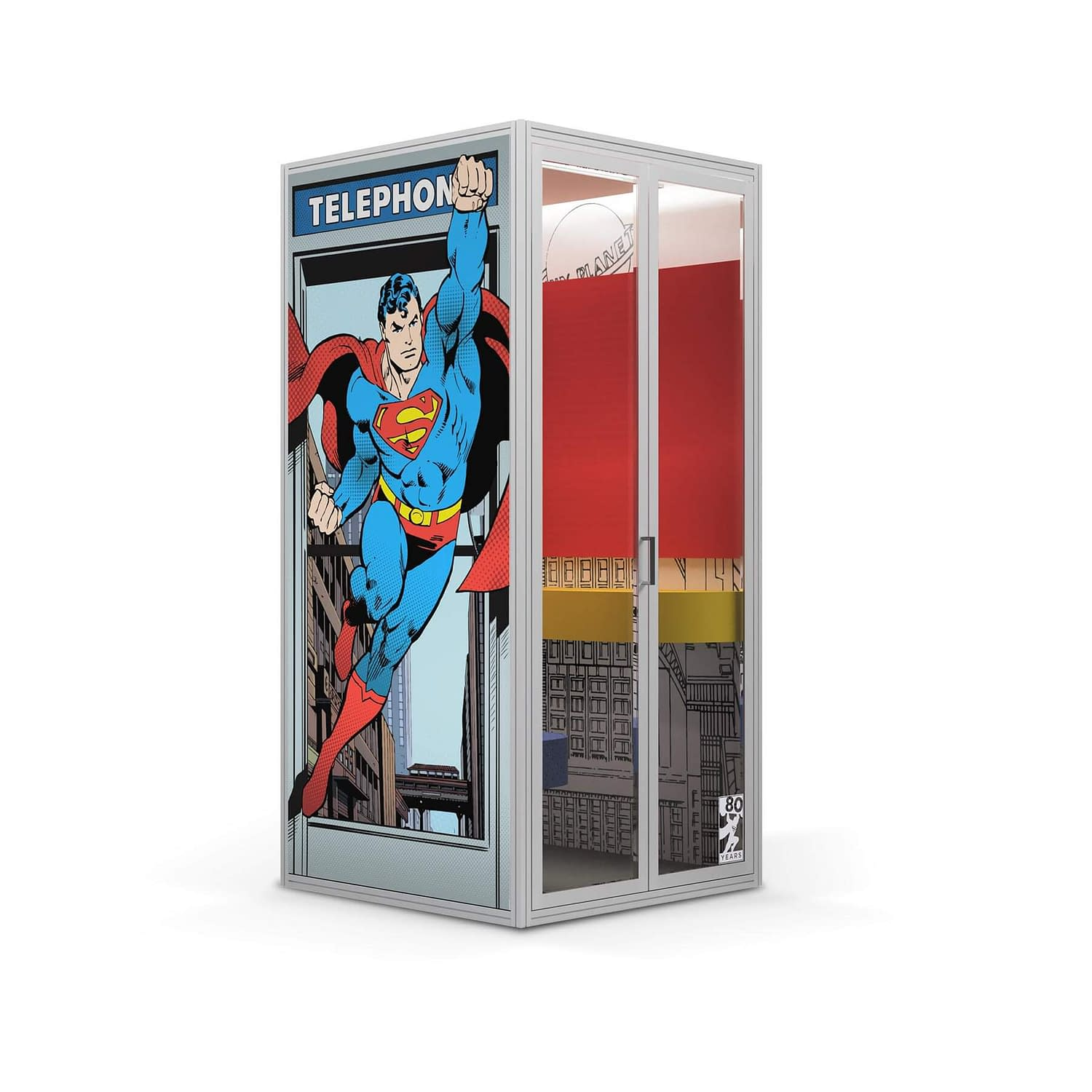 Cubicall Superman Phone Booth