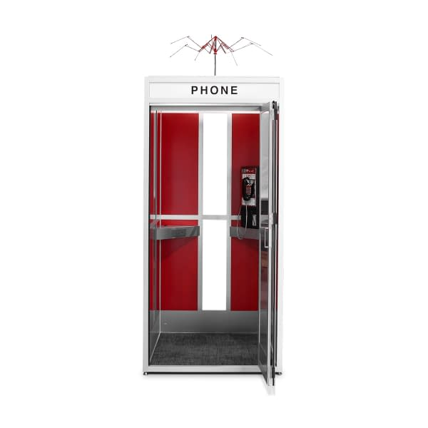 Cubicall Bill Ted PhoneBooth b-open
