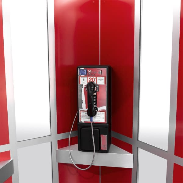 Cubicall Bill Ted PhoneBooth phone hook