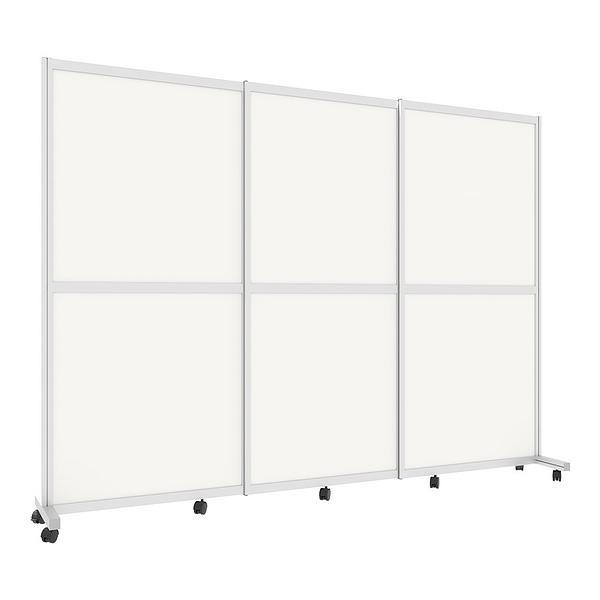 Cubicall Barrier rolling divider 3-panel 3