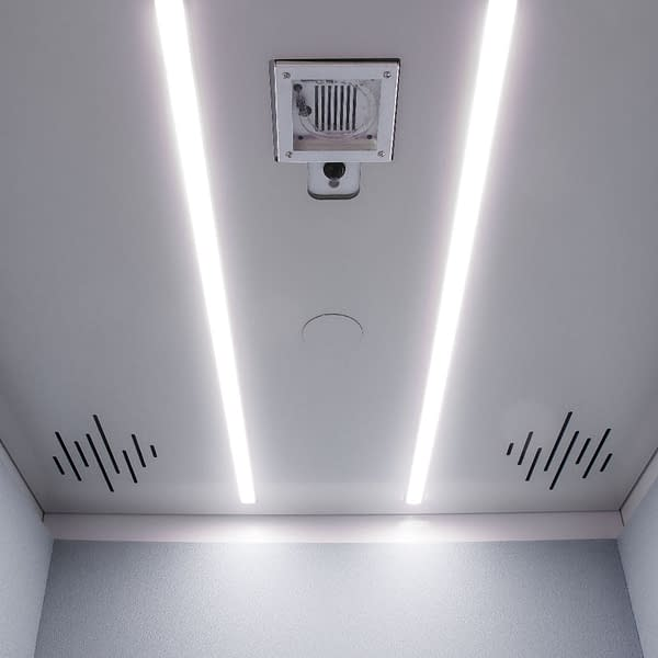 Cubicall Phone Booth UV Ceiling