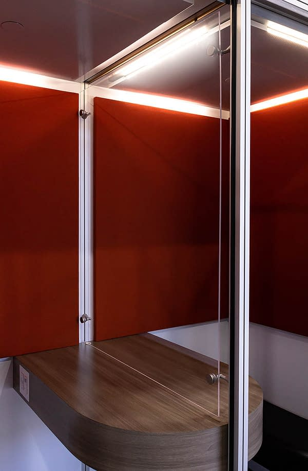 Cubicall Meeting Room Divider
