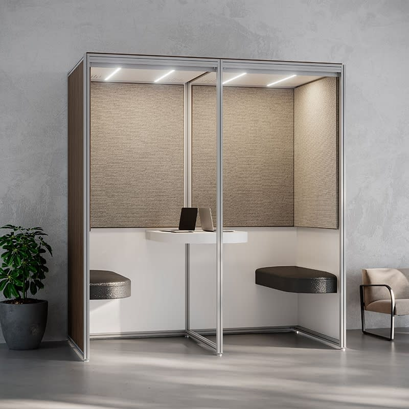 cubicall balance socialization alcove