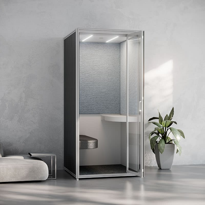 cubicall balance socialization privacy phonebooth