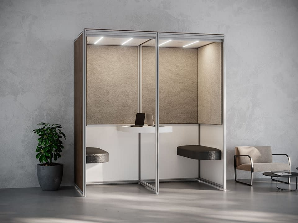 Alcove Open Meeting Space