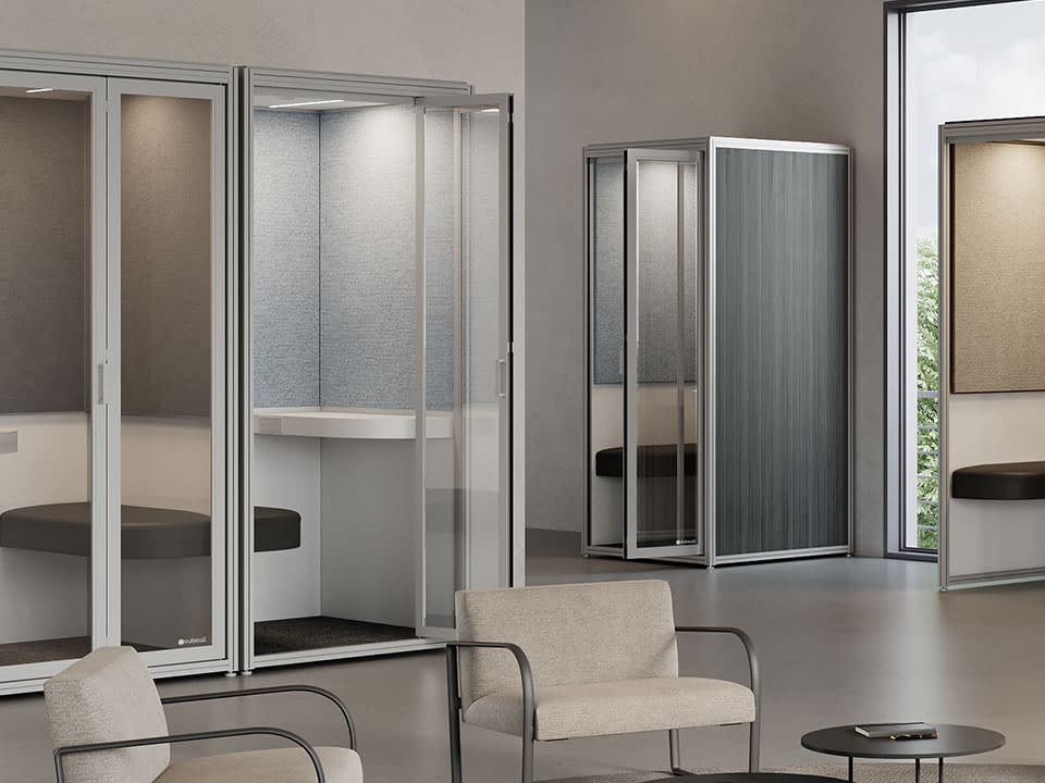 Cubicall Privacy Phone Booths